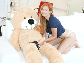Kadence Marie - Immature Spinner Caught Fucking a Teddy Bear