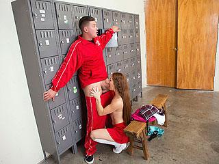 Kimberly Brix - Slutty Squirting Cheerleader
