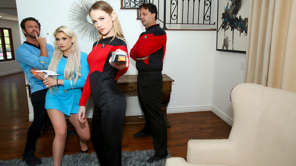 Riley Kay and Violet Storm - Live Long And Suck Sci Fi Dick