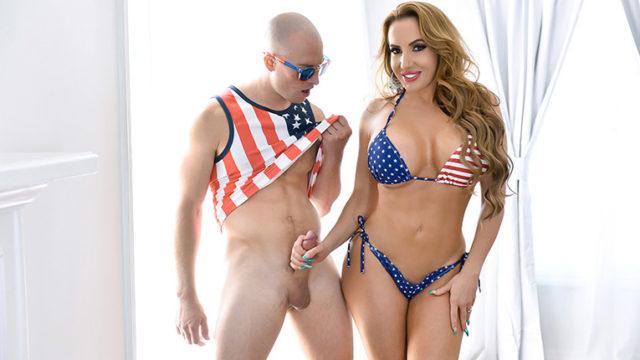 Richelle Ryan - Independence Day Stepmom Dick Down