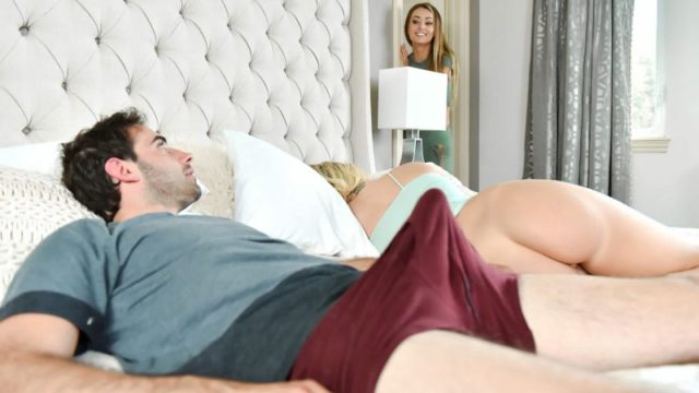 Bailey Brooke and Natasha Starr - Stop Looking At Stepmoms Ass!