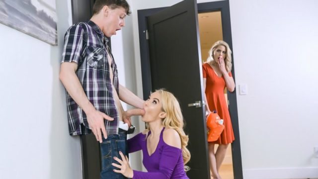 Aaliyah Love and Lisey Sweet - A Familial Cluster Fuck