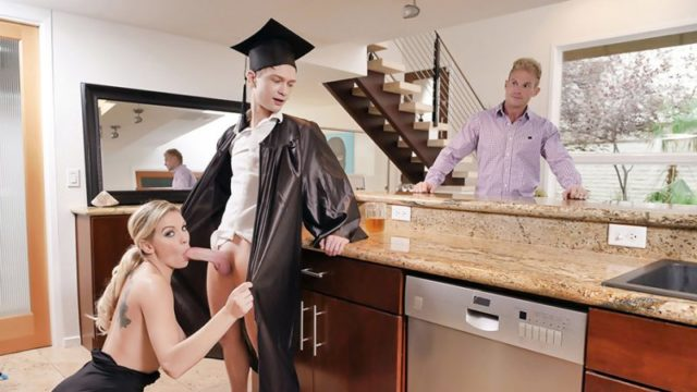 Kenzie Taylor - Cap And Gown Dick Down