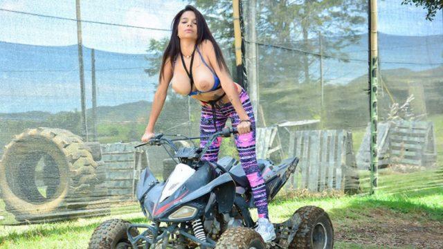 Mila Garcia - Bold Colombian Pussy