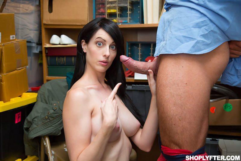Shoplifter Alex Harper Enjoys Sex In The Office By Lps Cock Tnaflix Porn Pics